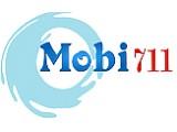 Логотип Mobi711, магазин аксессуаров к мобильным телефонам