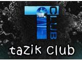 Логотип Tazik club, сауна